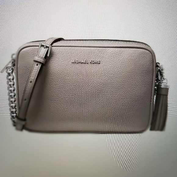 44213b0c0e4476 Michael Kors Bags | Ginny Pebble Leather Camera Bag | Poshmark